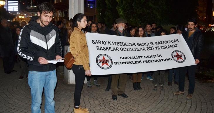 SGDF gözaltıları protesto etti: Zulüm karşısında susmayacağız