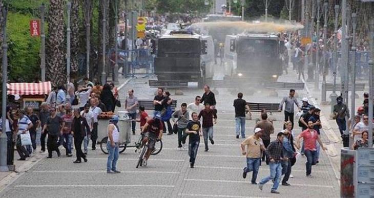 İzmir'de 'Soma protestosu' davası görüldü