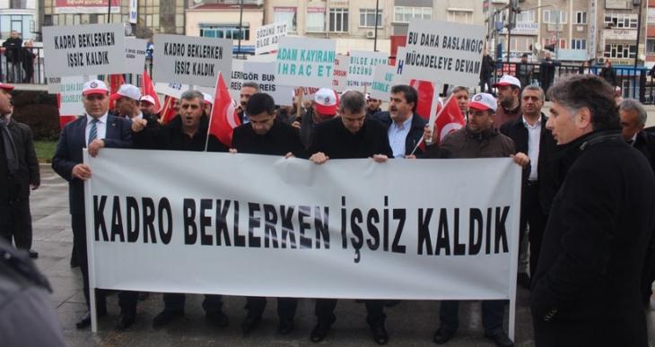 Gaziosmanpaşa Belediyesi işçileri kadro beklerken işsiz kaldı