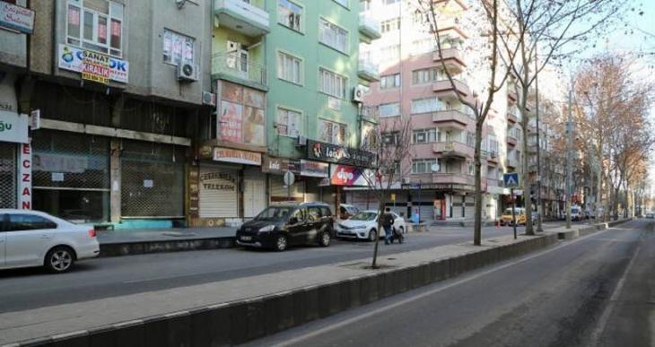 Sur için Diyarbakır'da hayat durdu