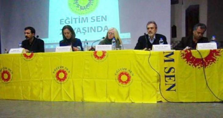 Eğitim-Sen'in kuruluş yıl dönümü Ankara'da katledilenlere adandı