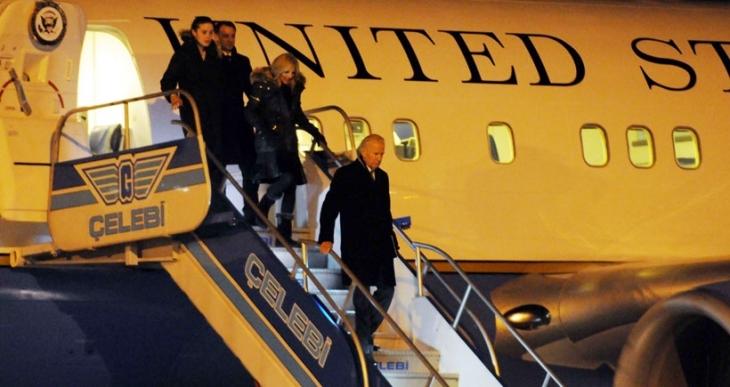 ABD Başkan Yardımcısı Joe Biden İstanbul'da...