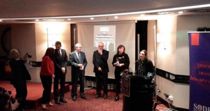 Sosyal Demokrasi Vakfı ödülleri verildi