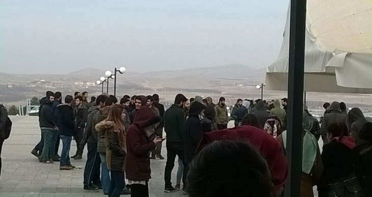 Malatya'da 14 öğrenci tutuklandı