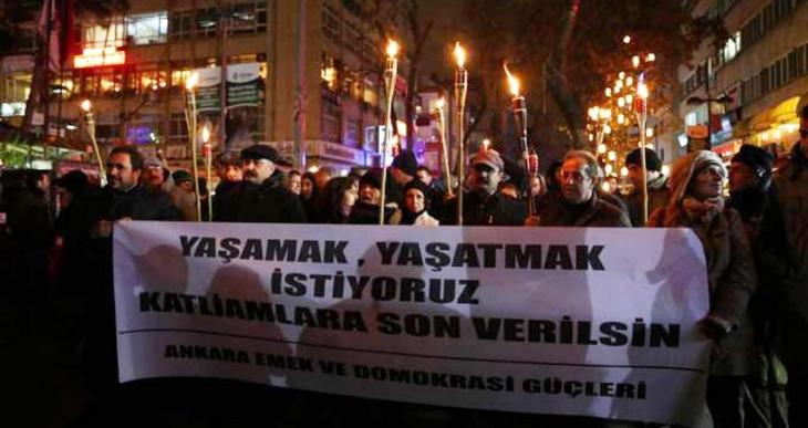 Ankara Emek ve Demokrasi Güçleri: Cizre'de insanlık dramı yaşanıyor