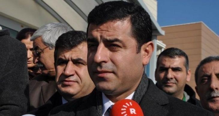 Demirtaş: Suriye'de barış istemedikleri için PYD'yi dışarıda bırakıyorlar