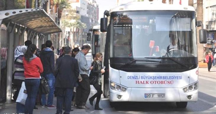 Denizli'de toplu ulaşıma yüzde 14 zam