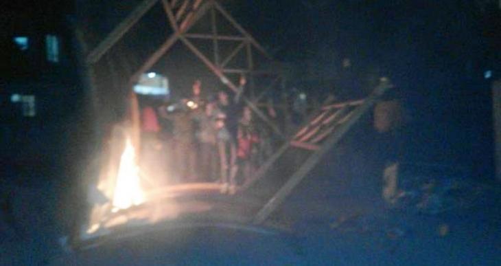 Tarsus'ta Cizre protestosuna saldırı
