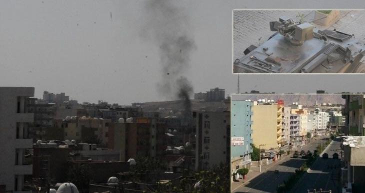 DİHA: Cizre'de sokak ortasında 5 cenaze bulundu