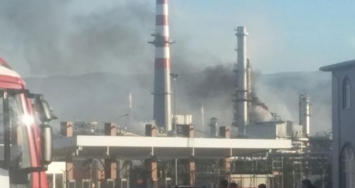 TÜPRAŞ yangınından 8 işçi etkilendi