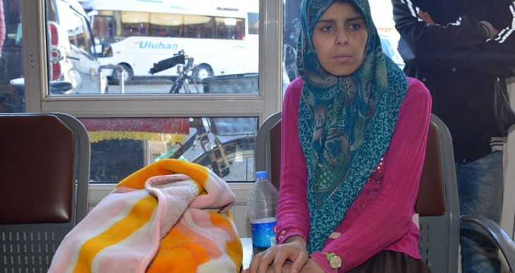 Ölüm bu kez otogarda yakaladı: Suriyeli bebek, açlık ve soğuktan öldü