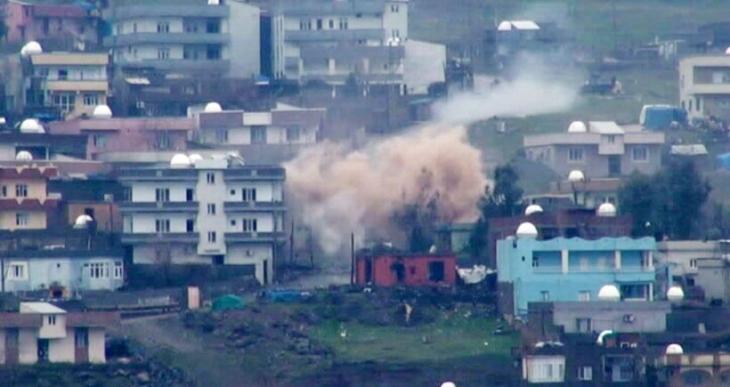 Cizre Cudi Mahallesi'nde 27 cenaze hastaneye kaldırıldı