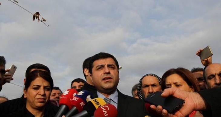 Demirtaş: Enver Paşa kafasıyla savaşa sürükleniyoruz