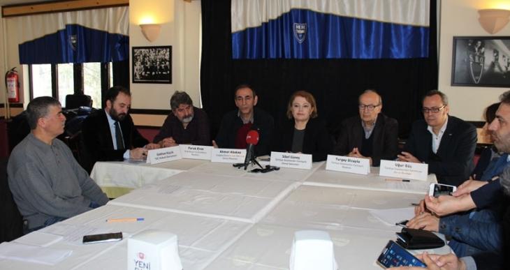 Gazeteci örgütlerinden 'Tutuksuz Gazetecilik' kampanyası