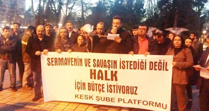 Kayseri'de halkçı bütçe için ortak mücadele çağrısı