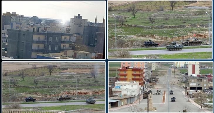 İdil'de yoğun bombardıman ve çatışma
