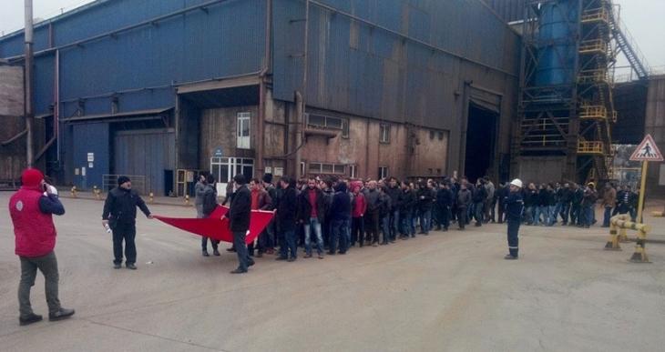 Kroman Çelik işçileri: İstediklerimizi alana kadar mücadelemizi sürdüreceğiz