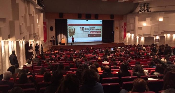 ODTÜ'de Aykut Kence Evrim Konferansı yapıldı