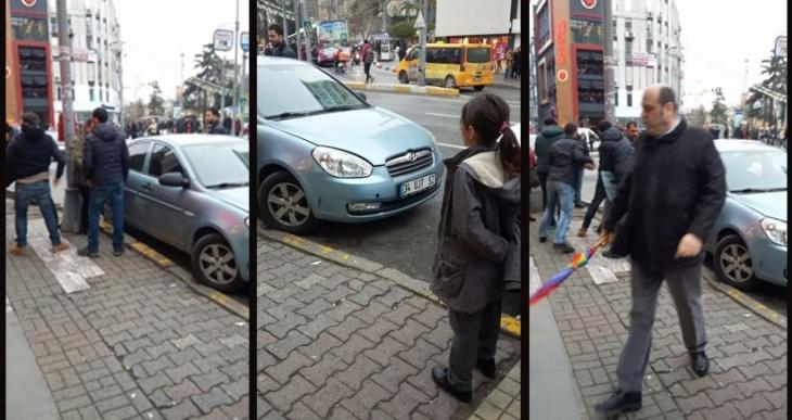 Kadıköy'de gözaltı anları