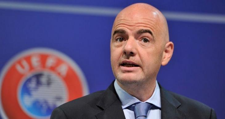 FIFA'nın yeni başkanı Gianni Infantino oldu