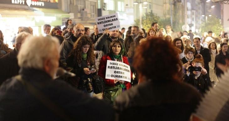 Kadıköy'de 200. barış buluşması
