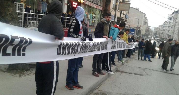 Gazi Mahallesi'ndeki yürüyüşe polis saldırdı