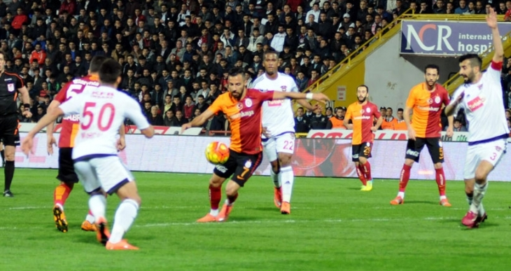 Gaziantepspor, Galatasaray'ı 2 golle mağlup etti