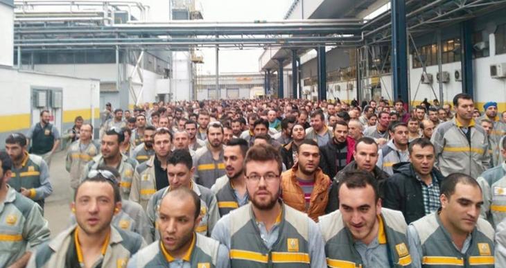 Renault işçileri yalnız değildir