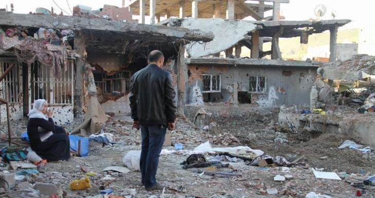 Cizre'de yavaş yürüyen de hızlı yürüyen de tutuklandı