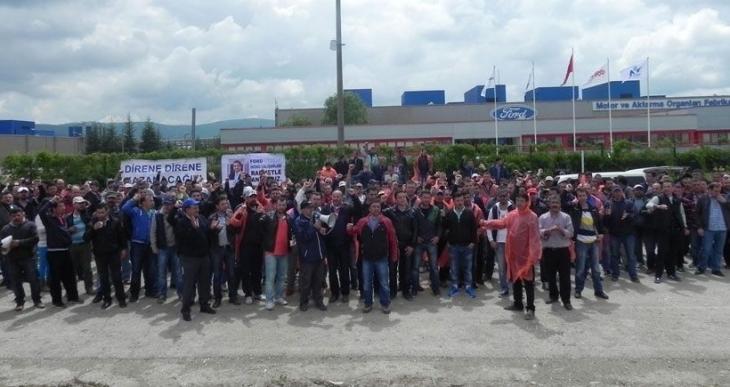 FORD işçileri: Renault işçilerini yalnız bırakmazsak kazanırlar