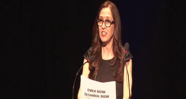 SİYAD Ödül Töreninde Emek Sineması protestosu