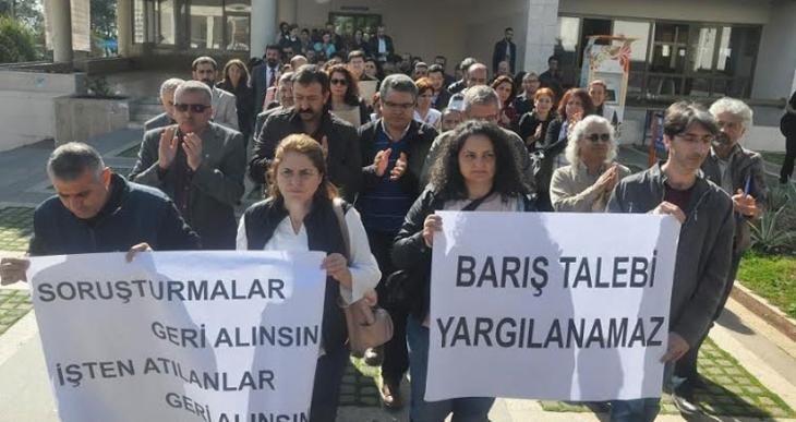 Mersin Üniversitesi, 'barış' isteyen 3 akademisyeni daha görevden uzaklaştırdı