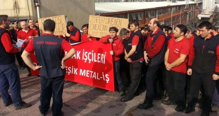 Ejot Tezmak işçileri: Renault işçilerinin mücadelesi, bizim mücadelemizdir