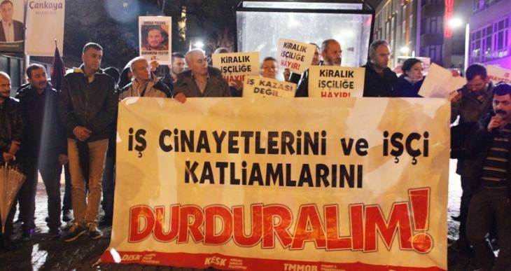 3 Mart iş cinayetlerine karşi mücadele günü: Ne kader ne fıtrat, kaza değil cinayet!