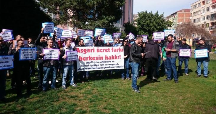 Kocaeli metal işçileri: Asgari ücret farkı, herkesin hakkı