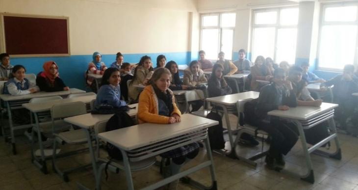 Cizre'de ders zili çaldı, boş kalan sınıflar birleştirildi