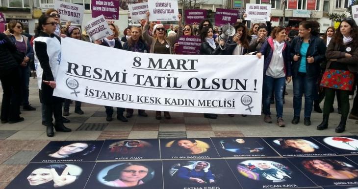 KESK İstanbul Kadın Meclisi: Müzakere koşullarına dönülmeli