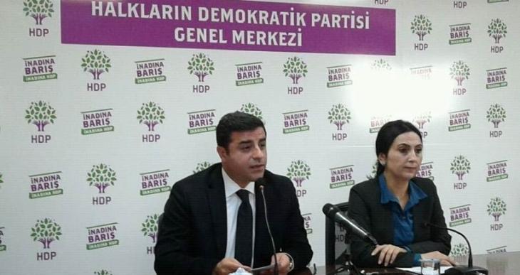 Demirtaş ve Yüksekdağ hakkındaki fezlekeler Meclis'te