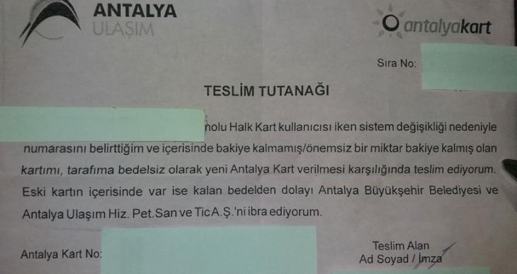 Antalya Büyükşehir Belediyesinde büyük vurgun: Ulaşım kartındaki  bakiyeler iç edildi