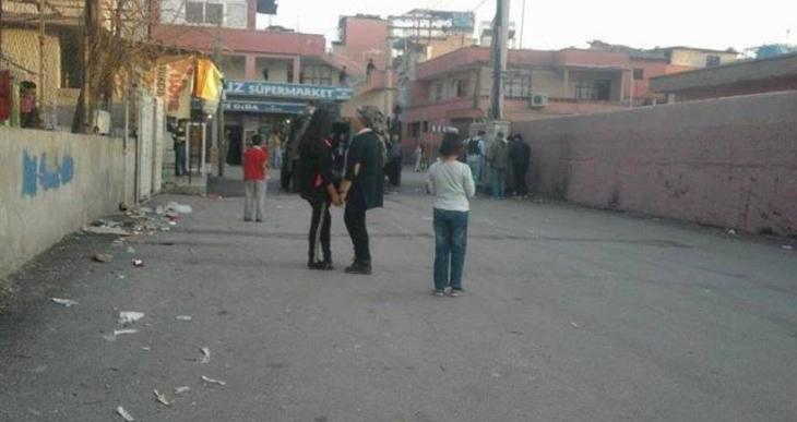 Tarsus Barbaros Mahallesi'nde polis saldırıları esnafa iş yaptırmıyor