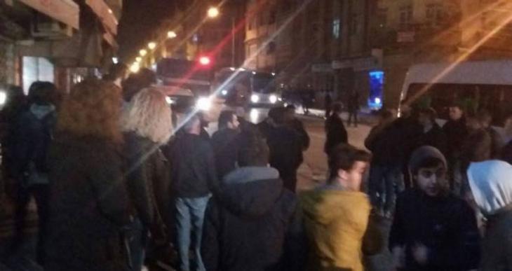 Ankara saldırısını protesto eden Halkevleri üyelerine faşist saldırı