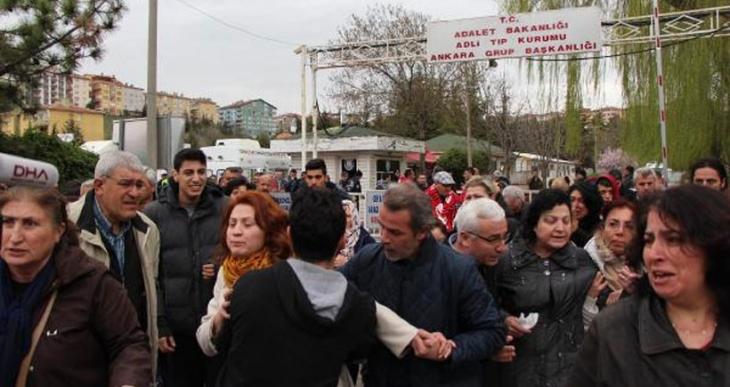 Adli Tıp Kurumuna getirilen 34 cenazeden 24'ü yakınlarına teslim edildi