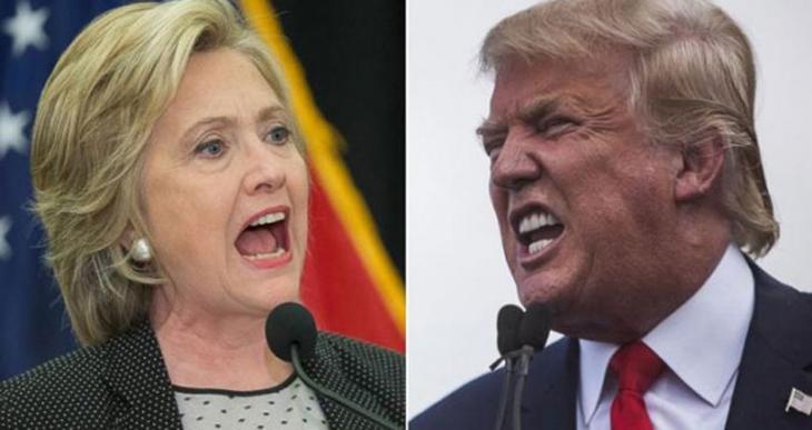 ABD'de başkan adaylığı seçimlerinde Trump ve Clinton kazanmaya devam ediyor