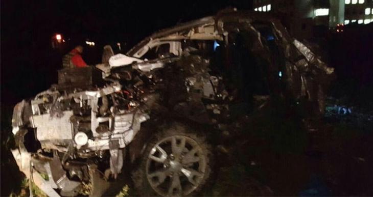 Nusaybin'de polis aracı ile askeri zırhlı araç çarpıştı!.. 1 polis hayatını kaybetti, 7 yaralı!