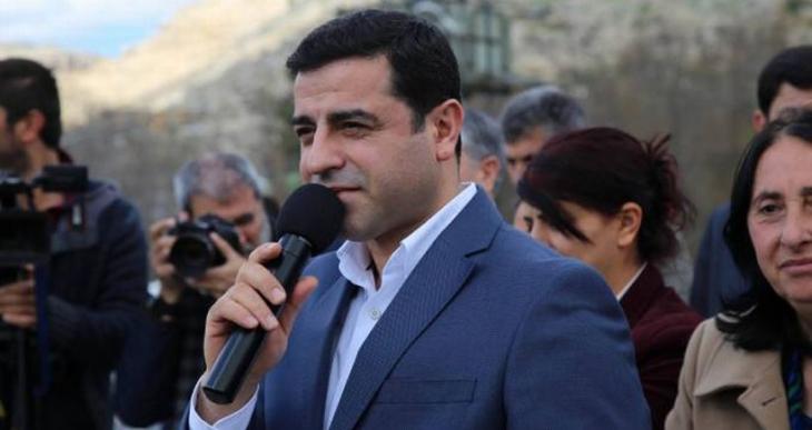 Demirtaş: Newroz'un barış ve özgürlüğün sesi olması için çabalıyoruz bunun için engellemek istiyorlar