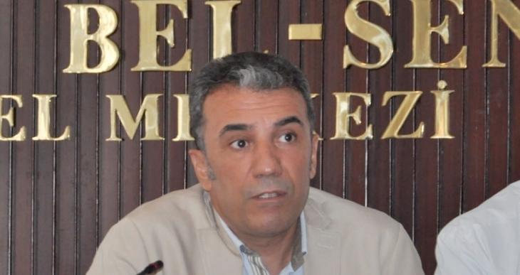 Tüm Bel Sen Genel Sekreteri Ferit Epözdemir gözaltına alındı