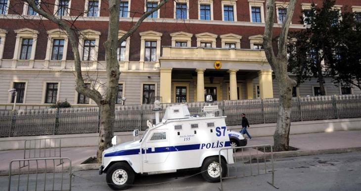 Almanya'nın İstanbul Başkonsolosluğu bugün de kapalı