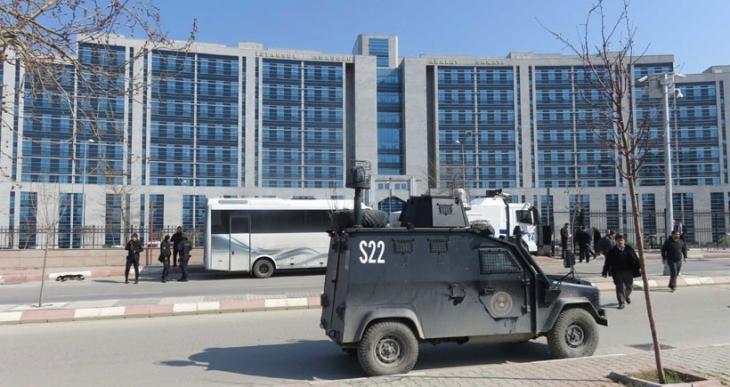 Hasan Ferit Gedik davası öncesi adliyede polis ablukası