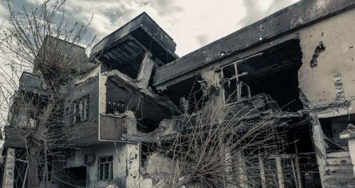 Cizre'de hasar tespiti yapıldı: 10 bin ev hasarlı
