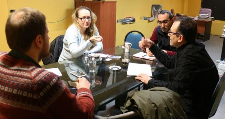 Gazetecileri Koruma Komitesi Evrensel'i ziyaret etti
